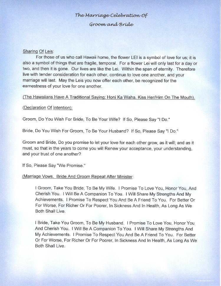 elegant christian wedding vows. alternative to traditional wedding ...